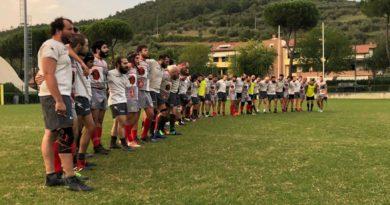 Buona la prima! Il Rugby Kontado si aggiudica la prima amichevole stagionale con gli Orsi del Rugby Pistoia.